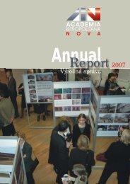 Aktivity - Academia Istropolitana Nova