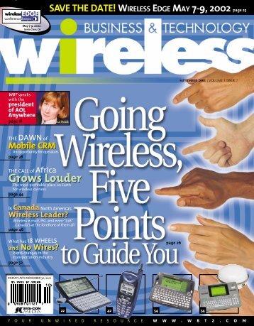 wireless primer - sys-con.com's archive of magazines - SYS-CON ...