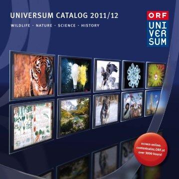 UNIVERSUM CATALOG 2011/12 - ORF