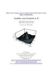 Grafiken und Statistik in R