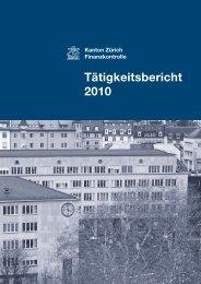 PDF, 3 MB - Finanzkontrolle Kanton Zürich