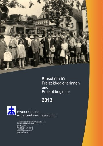 Wir empfehlen weitere Häuser und Ziele! - EAB-NRW