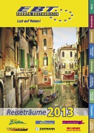 Katalog herunterladen (PDF) - EBT Europa Bustouristik