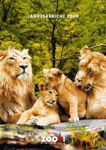 Jahresbericht 2009 [PDF, 3.00 MB] - Zoo Zürich