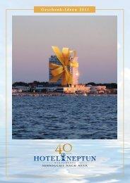 Geschenk-Ideen 2011 - Hotel Neptun