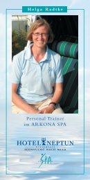 Personal Trainer im ARKONA SPA - Hotel Neptun