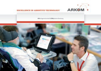 EXCELLENCE IN ASSISTIVE TECHNOLOGy - ARKOM ...