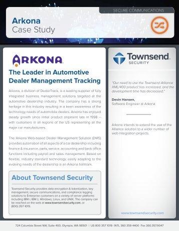 Arkona Case Study - Townsend Security