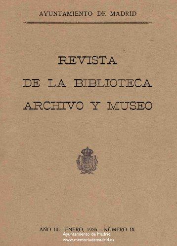 1 - Memoria de Madrid