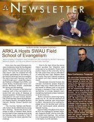 EWSLETTER - Arkansas-Louisiana Conference