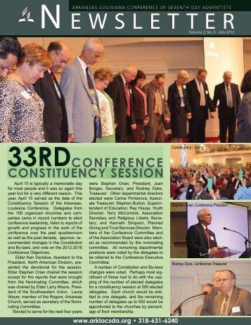 annual all retirees' retreat - Arkansas-Louisiana Conference