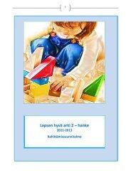 Lapsen hyvä arki 2 – hanke - Sosiaalikollega