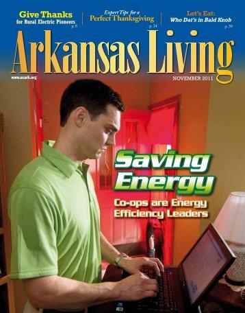 Saving Energy - Arkansas Electric Cooperative Corporation