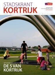 Stadskrant juli-augustus 2012 - Stad Kortrijk