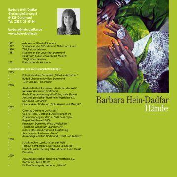 """Einladung Ausstellung """"Heinz-Dadflar"""" [pdf, 148 kB] - Dortmund"""