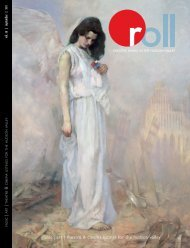 music   art   theatre & cinema listings for the hudson ... - Roll Magazine
