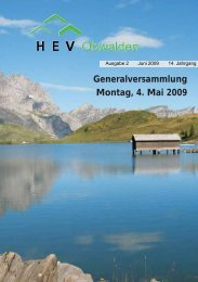 Ausgabe 2 /2009 - HEV-OW