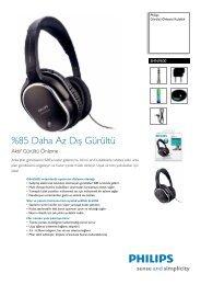 Aktif Gürültü Önleme - Philips