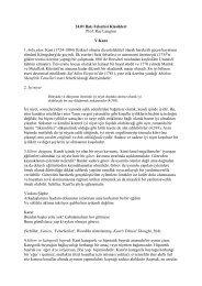 24.01 Batı Felsefesi Klasikleri Prof. Rae Langton V.Kant 1.Arka plan ...