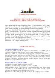 Proposte didattiche di Sforzinda - Castello Sforzesco