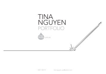Tina Nguyen Portfolio - Tina Design