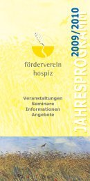 Baden - Förderverein Hospiz Ettlingen eV
