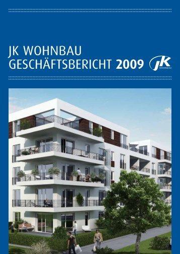 JK Wohnbau Geschäftsbericht 2009 - JK Wohnbau AG