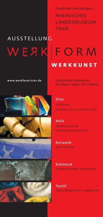 PDF Dokument - werkform trier