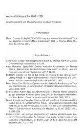 PDF-Liste für das Jahr 2002 - Thomas Mann