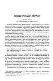 LA HUELLA DEL ARS POETICA DE HORACIO EN ... - InterClassica