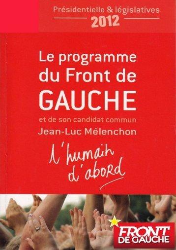 L'Humain d'abord - Le blog de Jean-Luc Mélenchon