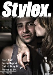 Sven Väth Berlin Report Call of Duty 6 Places to be - Stylex Magazin