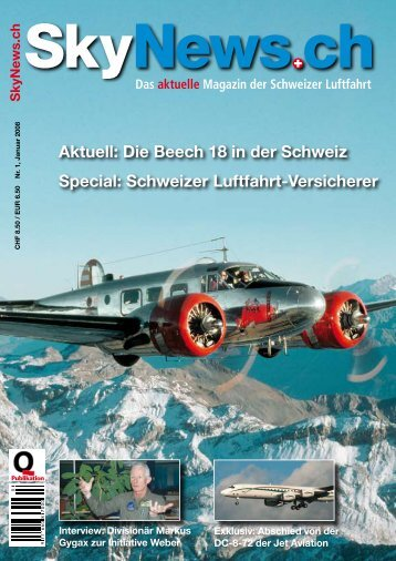 Aktuell: Die Beech 18 in der Schweiz Special ... - SkyNews.ch
