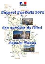 Rapport d'activité 2010 - Préfecture de la Vienne