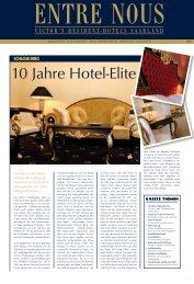 10 Jahre Hotel-elite