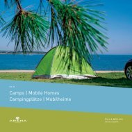 camps | mobile homes campingplätze | mobilheime - arenacamps.com