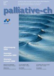 EUROPEAN JOURNAL OF PALLIATIVE CARE - Palliative ch