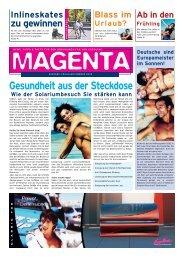 Blass im Urlaub? Ab in den Frühling Inlineskates ... - Ergoline GmbH