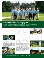 Traumurlaub mit Trainingseffekt... - Fairplay Golfreisen