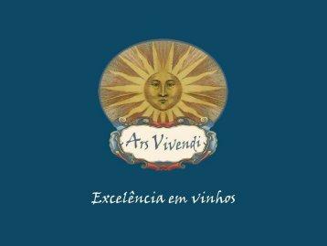 Excelência em vinhos - Ars Vivendi, São Paulo