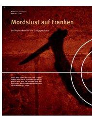 Mordslust auf Franken - Stadt Nürnberg