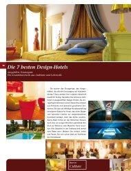 Die 7 besten Landhaus-Hotels Die 7 besten Design-Hotels