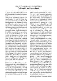 Philosophie und Lebenskunst - Gesellschaft für kritische Philosophie