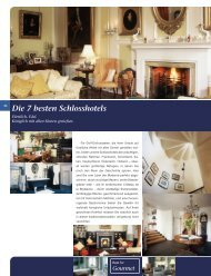 Die 7 besten Landhaus-Hotels Die 7 besten Schlosshotels