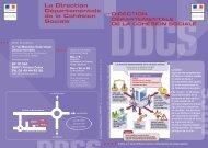 La Direction Départementale de la Cohésion Sociale