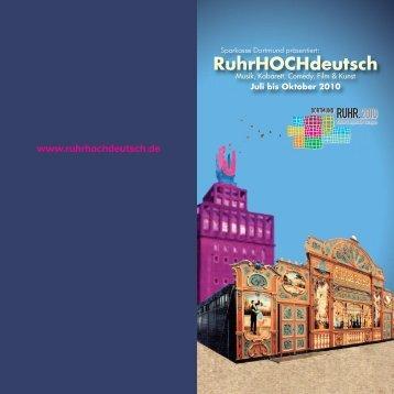 RuhrHOCHdeutsch - Ruhr 2010