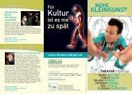 Kultur - Theater Solingen