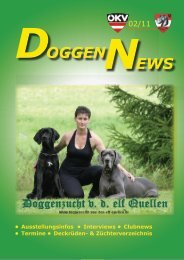 Klubnews - Österreichischer Doggenklub