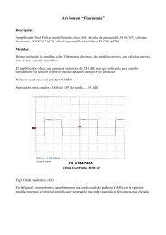 amplificador estereofonico integrado ars-sonum filarmonia