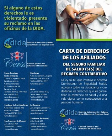 oficinas de la DIDA. - ARS Palic Salud